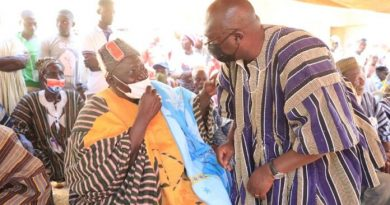 You are the kind of politician we're looking for — Gbankoni Chief tells Bawumia