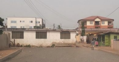 Abeka: Owners of house in middle of road demand full compensation before demolition