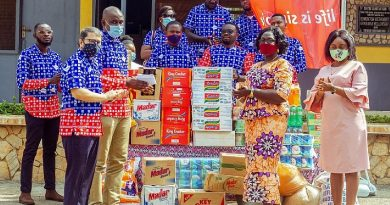 AirtelTigo donates items to Kumasi Children's Home
