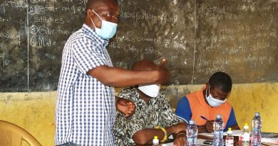 Akatsi South: Assemblymember of Tatorme-Fiato donates PPE to schools