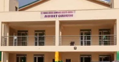 Akufo-Addo commissions an auditorium for Kyebi Presbyterian College of Education