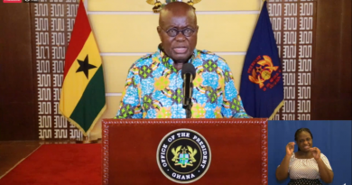 Akufo-Addo cut off 22 ministers in second term