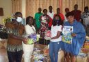Doreen Andoh Book Farm, Opoku Gakpo Foundation donate to schools in Ajumako Ba
