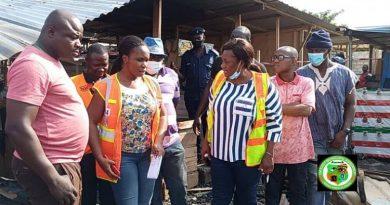 Ga East MCE warns encroachers of Kwabenya-Atomic market land following fire incident