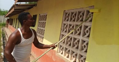 Headmaster renovates school from his own pocket
