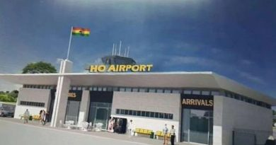 Ho Airport to begin commercial flights April,2021