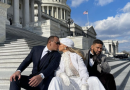 Jennifer Lopez and Alex Rodriguez Took a Highly Instagrammable Kissing Photo on Inauguration Day