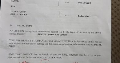 Koku Anyidoho sues NDC's Dzifa Gunu for defamation