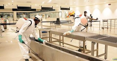 Kotoka International Airportundergoes massive disinfection