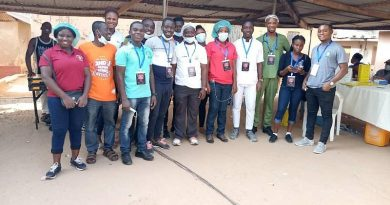 Kpando NDC Youth Wing support second J Health screening
