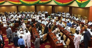 NDC MPs occupy majority side as NPP MPs fume