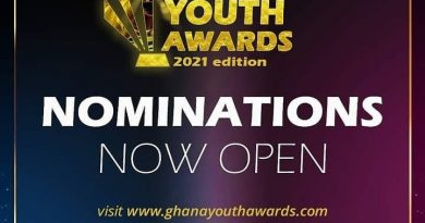 Nominations open for 2021 Ghana Youth Awards