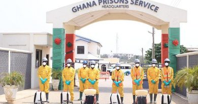 Prisons Service benefit from Zoomlionfree community disinfection