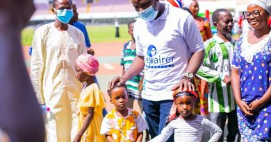 Repairer Foundation celebrates New Year with children in Tamale
