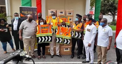 Street Sense Organisation supports police service during presidential swearing-in ceremony