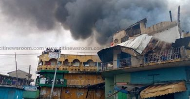 Two persons grabbed over fire at Aboabo station