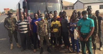 U/W: 16 ECOWAS nationals arrested, deported for entering Ghana illegally