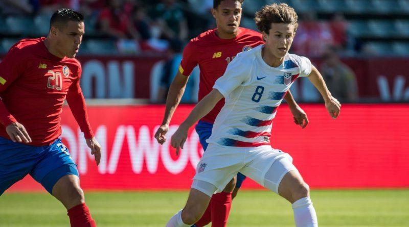 USMNT's Aaronson scores in FC Salzburg debut