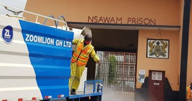 Zoomlion undertakes free disinfection at Nsawam Prisons