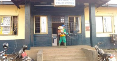 Accra: Disinfection of Police Stations begin