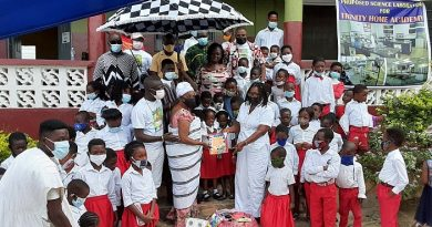 Akuapim Tutu: School dropout gets support from Naabea Ansrogya Odi Foundation to return to classroom