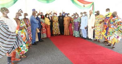 Akufo-Addo swears in members of the Council of State