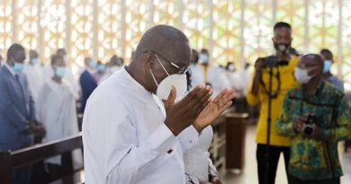 Bagbin thanks God for making him Speaker of Parliament