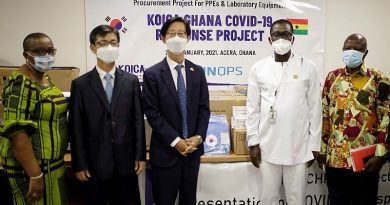 Covid-19: Korea gov't supports Health Ministry with $200,000 worth of PPE