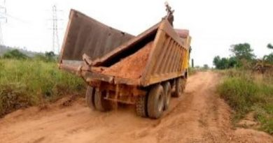 E/R: Tipper truck kills girl cooking in a kitchen at Senchi-Amanfrom