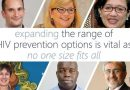 Expanding the range of options to prevent HIV is key
