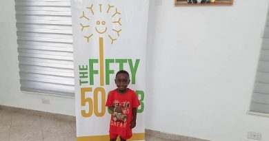 Fifty 50 Club donates to 5-year-old boy with a heart condition