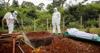 Ghana's Covid-19 deaths rise to 565