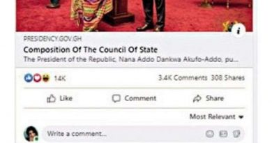 Indians storm Akufo-Addo's Facebook page, demand release of an Indian politician allegedly held in Ghana
