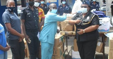 King James Foundation supports Police Hospital with medical equipment