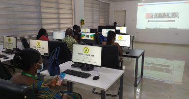 KNUST Alumni of North America Donates computers to KNUST Library