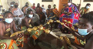 Let's partner to promote indigenous medicines – Daasebre Prof. Emeritus Oti Boateng tells Indian High Commissioner to Ghana
