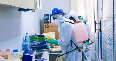 Noguchi calls for monthly disinfection of facilities