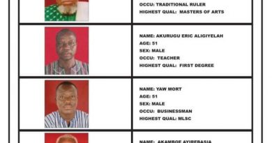 U/E: Talensi Paramount Chief seeks second term as Council of State member