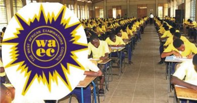 WAEC releases 2020 Nov/Dec results; withholds 401 candidates results