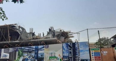 Workers injured as 22-storey building collapses at Airport