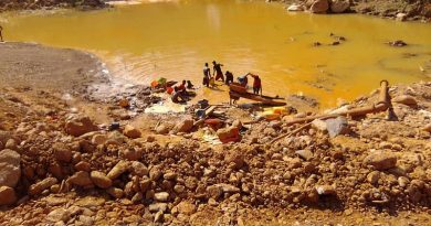 A/R: Illegal miners take over Bosomtwe Range Forest
