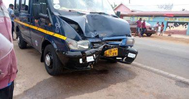 Akatsi residents block road over rampant accident
