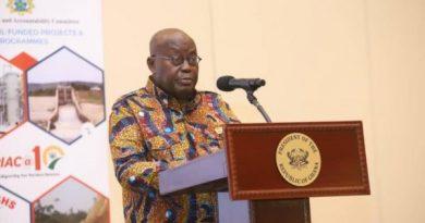 Capping estimates for Parliament, Judiciary potentially unlawful — Akufo-Addo