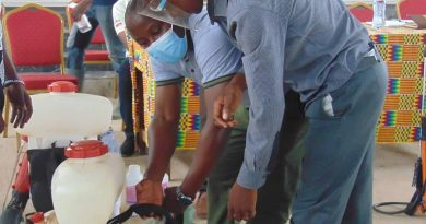 Cocobod Trains Spraying Gang Supervisors Of Volta Region At Jasikan