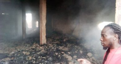 Director of Geonest Foundation loses GH¢2 million worth of Shoe investment to fire outbreak