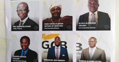 GGAGG accuse GCB Board of Directors of corruption, abuse of office