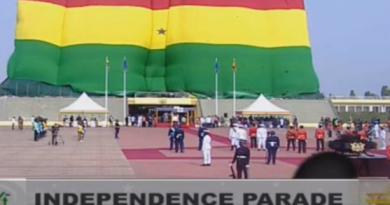 Ghana@64: Parade held at Flagstaff House