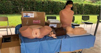 June 1976 University of Ghana Medical School Alumni donate Mannequins to the Medical School