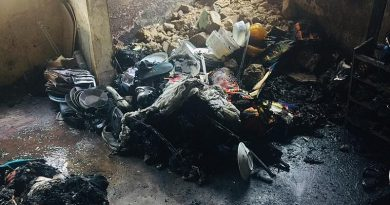 Kumasi: Fire outbreak renders family of four homeless…Appeals to NADMO for support