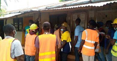 Kumasi: Sofoline interchange contractors grow wild over salary issue